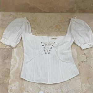 For love and lemons corset top